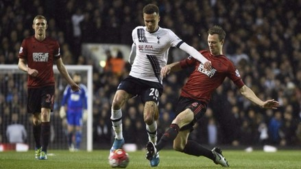Tottenham empató con West Bromwich y se aleja del título de Premier League