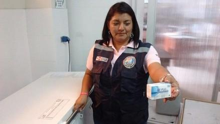 Chimbote: inician distribución de vacunas contra la AH1N1