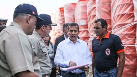 Ollanta Humala viajará a Ecuador para entregar ayuda a damnificados