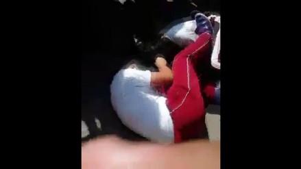 Trujillo: circula en redes video de alumnas en violenta pelea