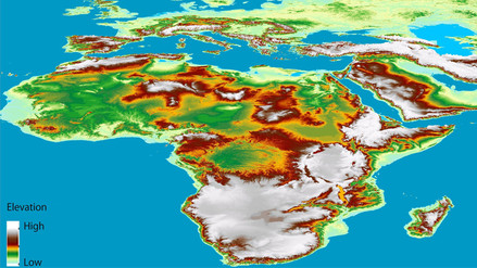 Conoce el mapa de la superficie terrestre en 3D más preciso del mundo