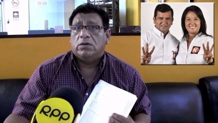 Virtual congresistas fujimorista denuncia a ciudadano Luis Rosillo