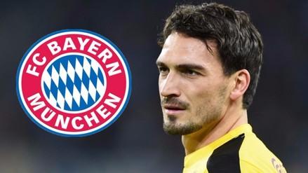 Bayern Munich inició negociaciones para contratar a Mats Hummels