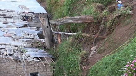 Huancayo: árboles caen sobre viviendas y causan daños materiales