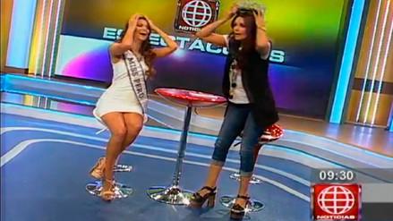 Miss Perú 2016: conductora de TV le arrebata la corona a Valeria Piazza