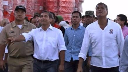 Rafael Correa: Ayuda del Perú no ha sido granito de arena, sino una playa