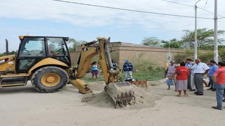 Ponen en operatividad obra de saneamiento en Paita