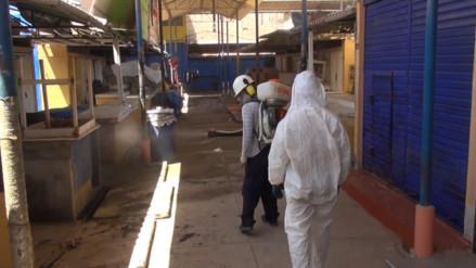 Realizan campaña de fumigación en mercado Moshoqueque