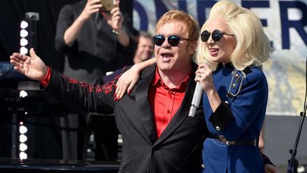 Lady Gaga y Elton John se unen para lanzar una línea de ropa