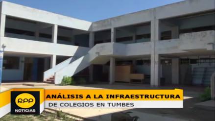 El 60% de los colegios de Tumbes se encuentran en pésimas condiciones