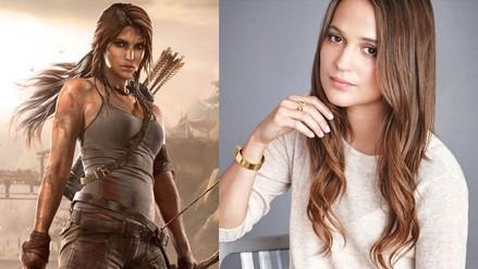 Alicia Vikander será Lara Croft en reboot de Tomb Raider