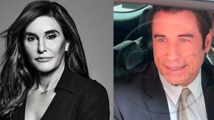 ¿John Travolta y Caitlyn Jenner en románticos encuentros?