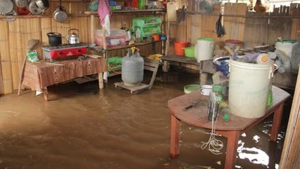 Moyobamba: fuertes lluvias y vientos dejan 51 viviendas afectadas