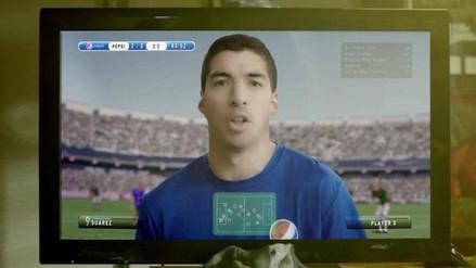 YouTube: Luis Suárez hace de las suyas en spot publicitario
