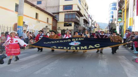 Región Apurímac celebra sus 143 aniversario de creación política