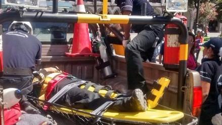 Realizan simulacro de rescate ante peregrinaje a Chapi