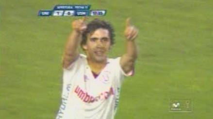 Universitario vs. San Martín: Gutiérrez anotó en el día de su cumpleaños