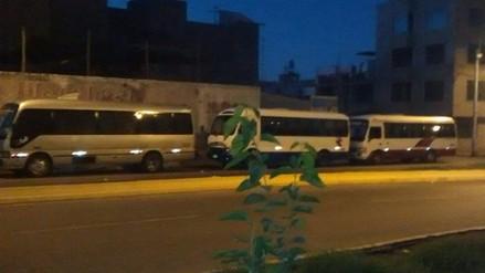 Transportistas ya se ubican en paraderos autorizados a Chapi