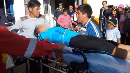Unos 28 niños intoxicados por consumir golosinas en colegio de Huancayo