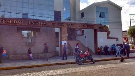 Concejo distrital de Baños del Inca hoy decide suerte de alcalde Palomino
