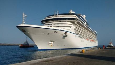 Trujillo: más de mil turistas llegan a Puerto Salaverry en crucero