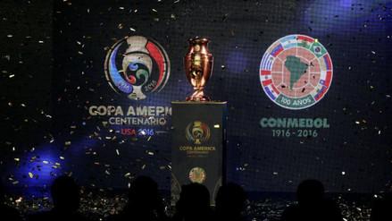 Copa América Centenario: se presentó el trofeo que ganará el campeón