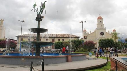 Moyobamba: vehículos no podrán entrar a plaza de armas