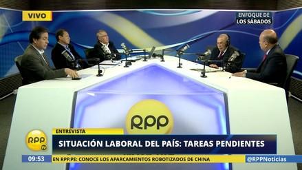 """Carlos Blancas: """"Ley General del Trabajo fue encarpetada por este Gobierno"""""""