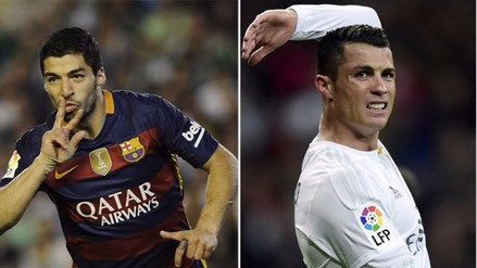 Luis Suárez supera a Cristiano Ronaldo como goleador de la Liga BBVA