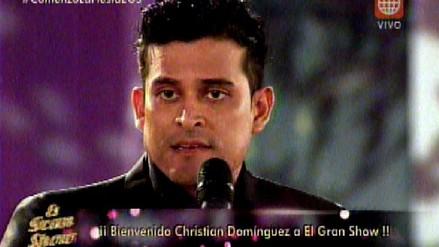 El Gran Show: Christian Domínguez habló tras escándalo con Vania Bludau