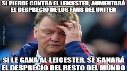 Manchester United vs. Leicester City: estos son los memes del encuentro