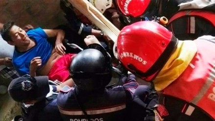 Anciano es rescatado en Ecuador 13 días después del terremoto