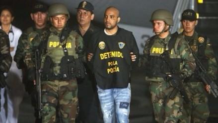 Gerson Gálvez, alias 'Caracol', llega al Perú y es trasladado a requisitorias