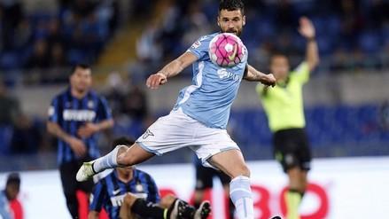 Inter de Milán cayó 2-0 ante Lazio y quedó fuera de la Champions League
