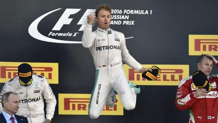 Nico Rosberg ganó GP de Rusia y sumó 4 victorias en Mundial de Fórmula 1