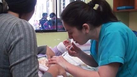 Chiclayo: continúa vacunación contra influenza por bajas temperaturas