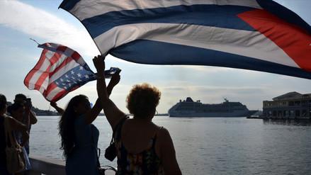 Así recibieron los cubanos al primer crucero estadounidense en 50 años