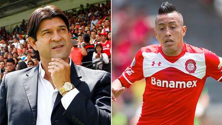 Christian Cueva: José Cardozo dejará de ser entrenador del Toluca