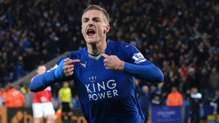 Leicester City: Jamie Vardy elegido jugador del año en la Premier League por la prensa