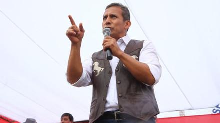 """Humala: """"Están tratando de ganar votos a costa de deforestar la Amazonía"""""""