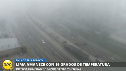 (Fotos) Lima amaneció con densa neblina y 19 °C de temperatura