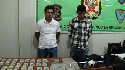 Moyobamba: capturan a presuntos delincuentes que asaltaron al peaje