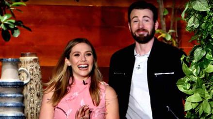 Elizabeth Olsen y Chris Evans confesaron haber salido secretamente