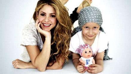 Shakira diseñó muñeca calva para apoyar a niños con cáncer