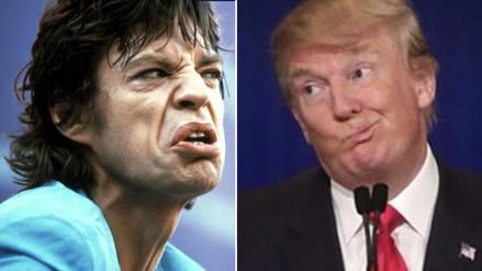 The Rolling Stones prohíben a Donald Trump usar sus canciones