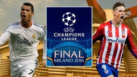 Real Madrid vs. Atlético: fecha y hora de la final de la Champions League