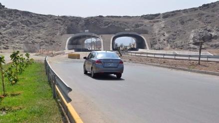 Túneles que unen carretera Central con av. Javier Prado operarán este mes