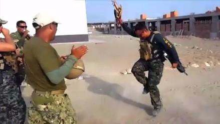 Facebook: militares peruanos se vuelven viral al bailar el
