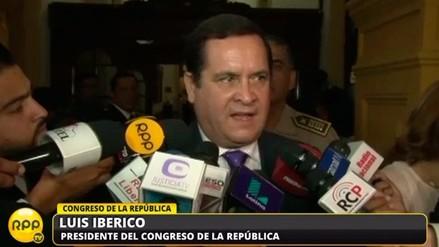 """Iberico: """"No puede ser que el sicariato tenga mayor pena que el genocidio"""""""