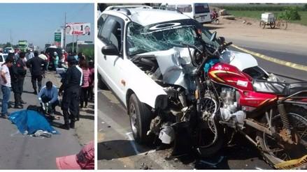 Virú: Vigilante muere tras chocar su moto contra colectivo